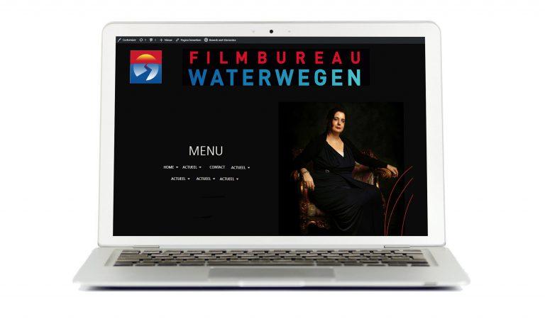 Een professionele, creatieve website voor Filmbureau Waterwegen