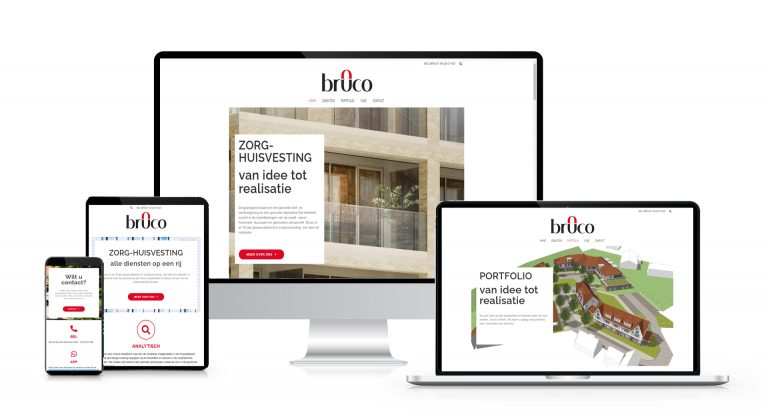 Een nieuwe website voor Bruco BV